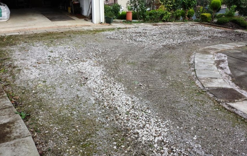 Brookhouse Driveway Before 1