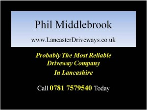 Lancaster Driveways by Phil Middlebrook for Driveways in Lancaster