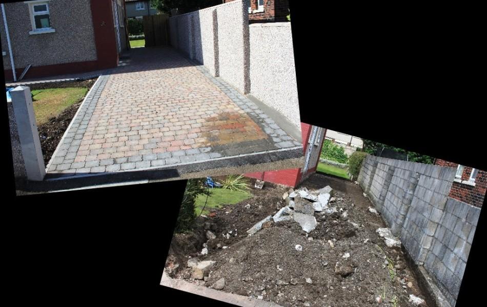 Driveway, block paving, Edenvale crescent, lancaster
