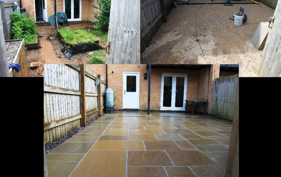 Indian sandstone,paving, Bridgeside, carnforth