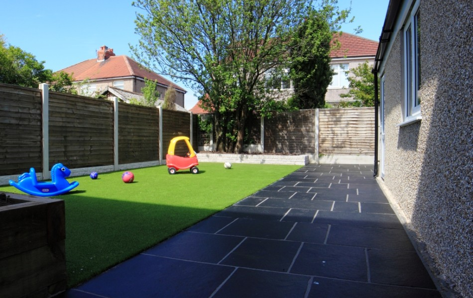 Artificial Grass Kirkstone Drive Morecambe