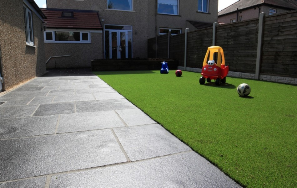Artificial Grass Kirkstone Drive Morecambe 2