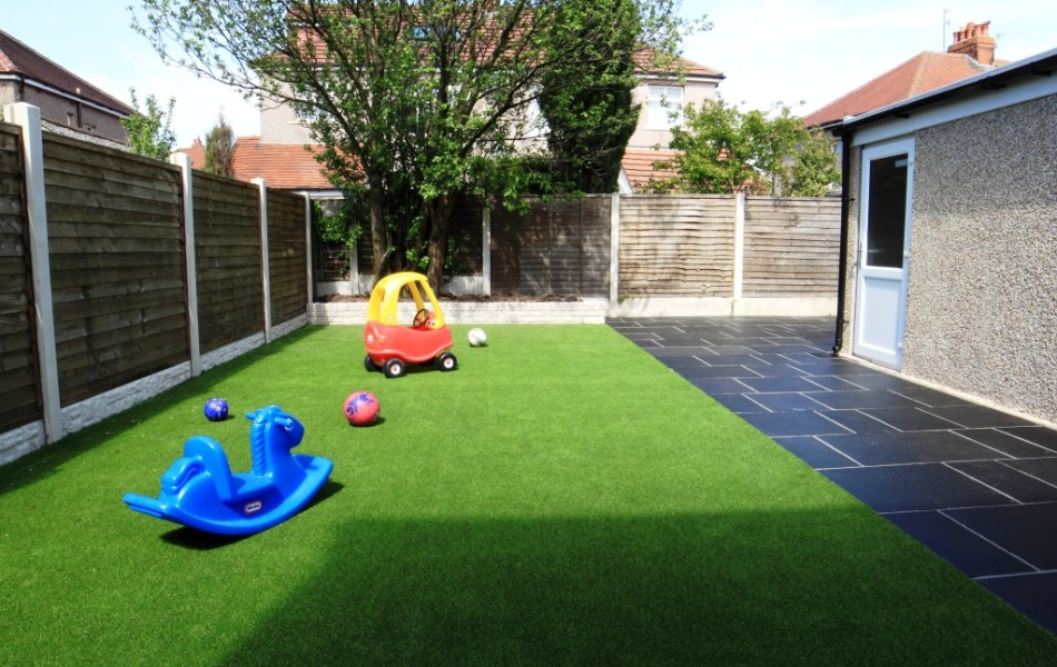 Artificial Grass Kirkstone Drive Morecambe 4