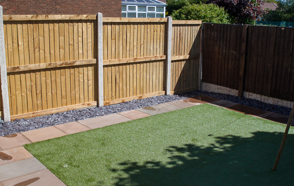 Artificial Grass Ainsdale Close Torrisholme 4